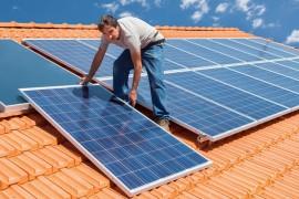 Solpaneler till värmepump
